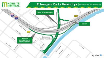Ouvertures secteur De La Vérendrye / A15, fin de semaine du 13 décembre (Groupe CNW/Ministère des Transports)