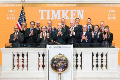The New York Stock Exchange welcomes The Timken Company (NYSE:TKR) in celebration of its 120th anniversary of founding. Richard G. Kyle, President and CEO, joined by Jim Byrne, Head of U.S. Listings, NYSE, rings The Closing Bell®.