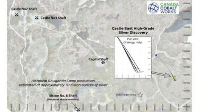 Castle Property/Gowganda Camp (CNW Group/Canada Cobalt Works Inc.)