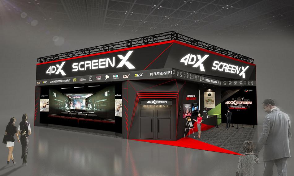CJ 4DPLEX to Launch Next Generation Movie Theater Concept at CES 2020 (PRNewsfoto/CJ 4DPlex)