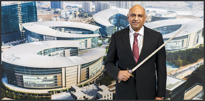Atul Chordia, Chairman, Panchshil Realty With The Coveted Sword of Honour