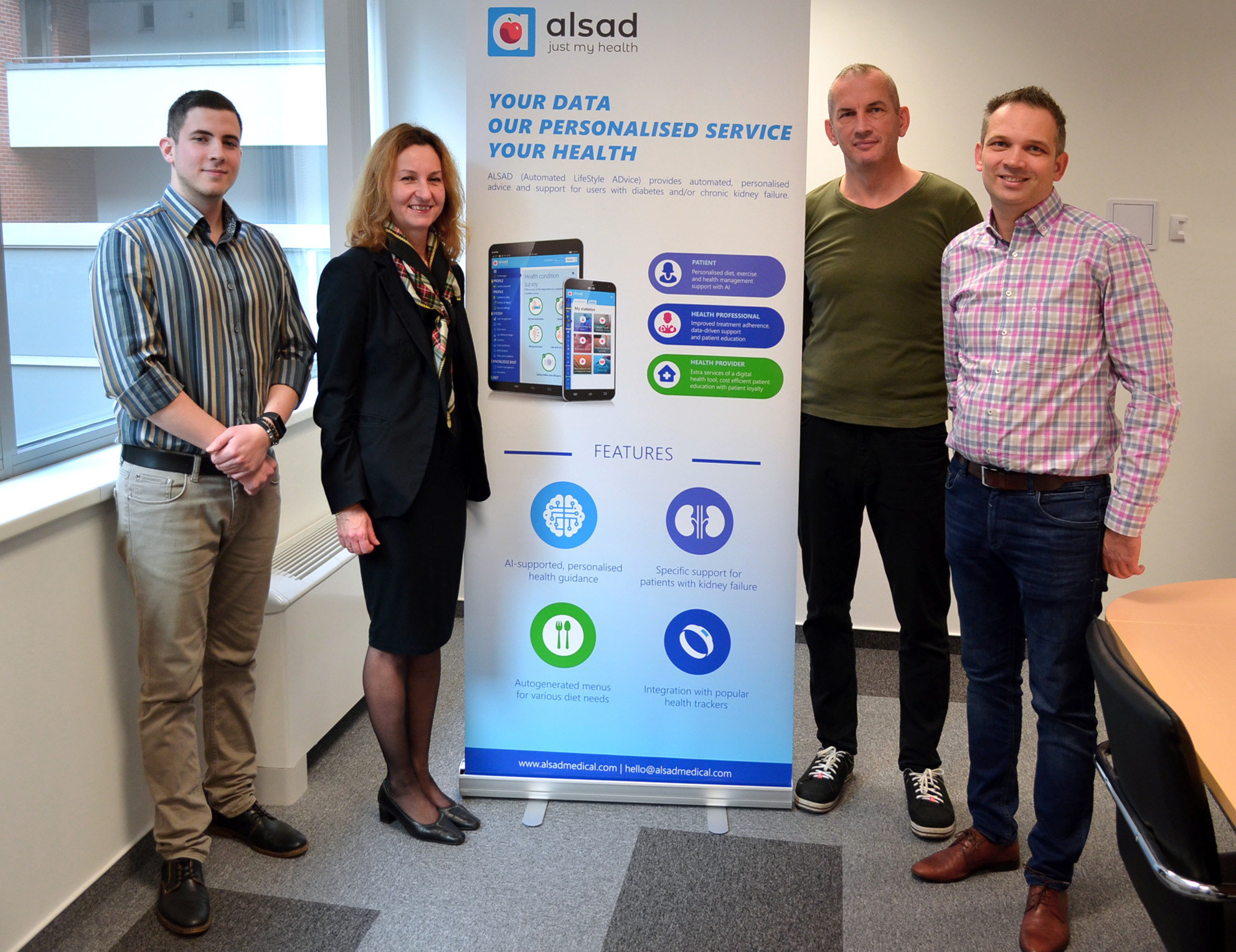 Alsad Medical Introduce Innovative New Application For Daily Health Management