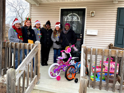 Kisling, Nestico & Redick purchased $5,000 in layaways and delivered presents to local families.