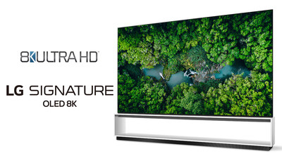 LG Electronics (LG) announced that its TVs are the first in the world to exceed the strict requirements established by the Consumer Technology Association to define the new generation of 8K Ultra HD products and services, delivering four times more detail than 4K TVs and 16 times more than HDTVs.