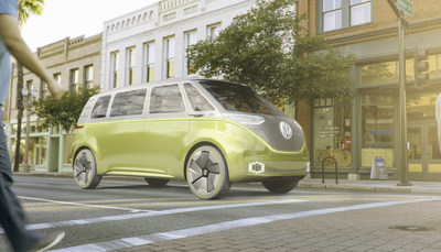 VW MICROVAN EXTERIOR (PRNewsfoto/Qatar Investment Authority (QIA))