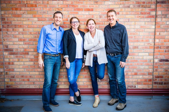 Four Points Funding Partners (Shawn Bertini, Amanda Montgomery, Stephanie Copeland, Christopher Montgomery)