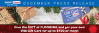 SMART Carpet and Flooring Offers New Promotion and Asks: 'Looking for a Unique Christmas Gift? Give the Gift of Flooring!'