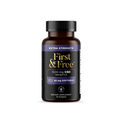 First & Free CBD Softgels (CNW Group/Canopy Growth Corporation)