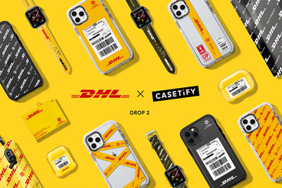 New DHL x CASETiFY Collection Gives A Glimpse into the Next 50 Years of DHL