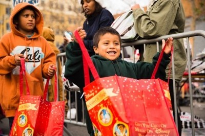 Christmas Comes Today Saturday, Dec. 14th For Thousands Of Homeless & Underprivileged Children On Skid Row At The Fred Jordan Missions' 75th Anniversary Christmas Toy Party