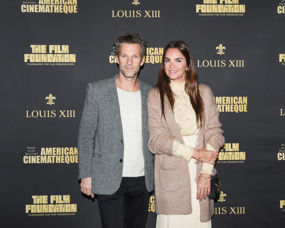Aaron Young, Laure Heriard Dubreuil (PRNewsfoto/LOUIS XIII)