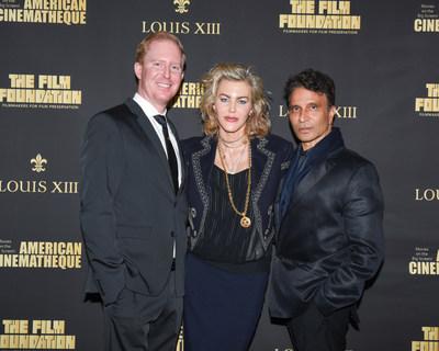 Ron Newmam, Heather Voss, Dr. Raj Kanodia (PRNewsfoto/LOUIS XIII)