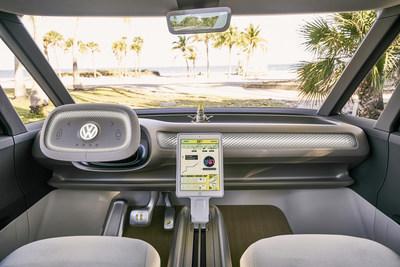 VW MICROVAN INTERIOR (PRNewsfoto/Qatar Investment Authority (QIA))