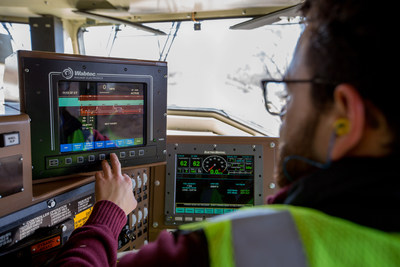 Positive Train Control calculates train stopping distances and prompts locomotive engineers to slow down. The system automatically stops trains if engineers do not respond in a timely manner, preventing certain accidents caused by human error.