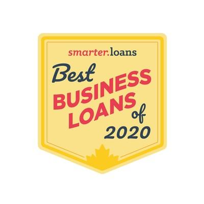 Best Business Loans for 2020 Badge by Smarter Loans (CNW Group/Smarter Loans)
