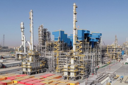Sinopec Completes Main Unit of the Middle East's Largest Refinery.