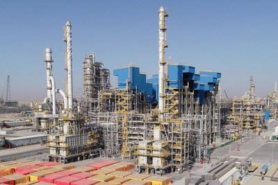 Sinopec termine l'unité principale de la plus grande raffinerie du Moyen-Orient (PRNewsfoto/Sinopec)
