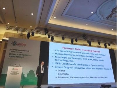 Toshio Fukuda, General Chairman of IEEE2020, Founder of IROS