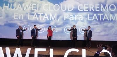 Lançamento da HUAWEI CLOUD no Peru (PRNewsfoto/HUAWEI CLOUD)