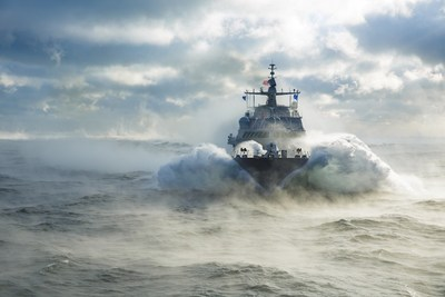 LCS 19 (St. Louis) completed Acceptance Trials in Lake Michigan.