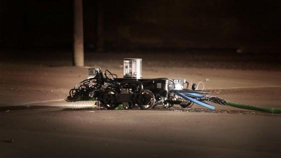 Gecko Robotics industrial robot