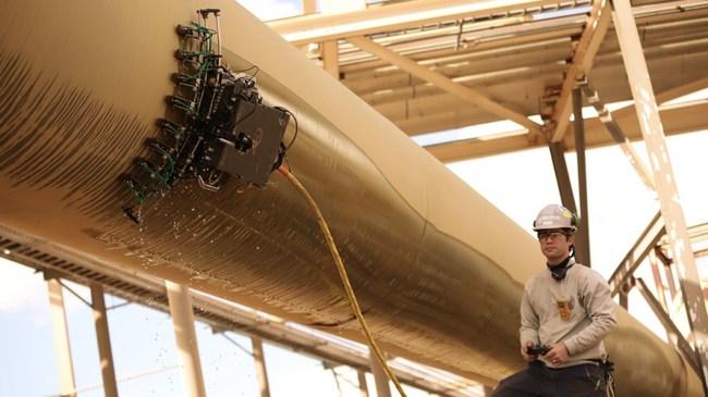 Gecko Robotics industrial inspection