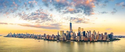 Skyline of New York City (CNW Group/FlightHub)