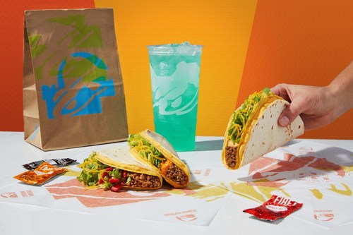 The Nacho Crunch, Chipotle Cheddar and Reaper Ranch $1 Double Stacked Tacos will be available a la carte and in a $5 Cravings Box nationwide and for a limited time starting on December 26.