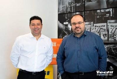 Wagner Vieira (à esq.) e Plinio Fazol