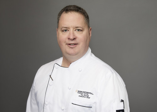 The InterContinental Toronto Centres new Executive Chef, Tim Dunnill. (CNW Group/InterContinental Toronto Centre)
