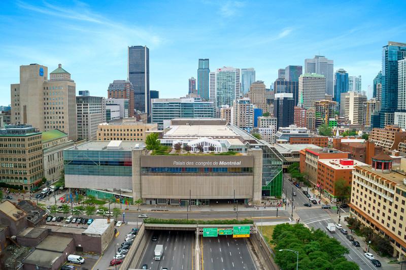 Le Palais des congrès de Montréal et le Quartier de l'innovation unissent leurs réseaux pour faire rayonner le savoir-faire montréalais (Groupe CNW/Palais des congrès de Montréal)