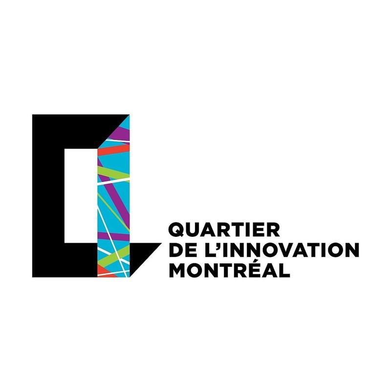 Logo : Quartier de l'innovation Montréal (Groupe CNW/Palais des congrès de Montréal)