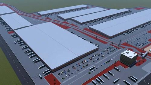 Kampus Santa Rosa Industrial - Guadalajara, Mexico (CNW Group/ICM Asset Management)