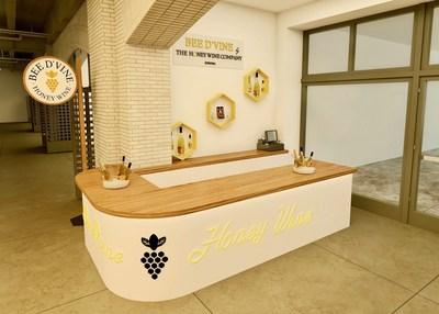 Architectural Rendering Bee d'Vine Tasting Bar
