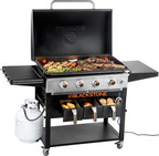Blackstone AirFryer Griddle Combo Innovates By Bringing The AirFryer Outdoors