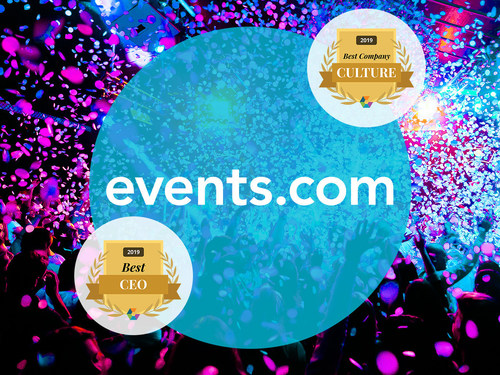 Events.com Receives 2019 Comparably Awards for Best Company Culture and Best CEO in the US