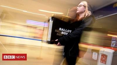 El sitio web de BBC News amplía su uso de la inteligencia artificial en el periodismo semiautomatizado, utilizando a Arria NLG para ayudar a publicar noticias y resultados localizados de la elección para cada una de las 690 circunscripciones electorales minutos después de la notificación de los votos.