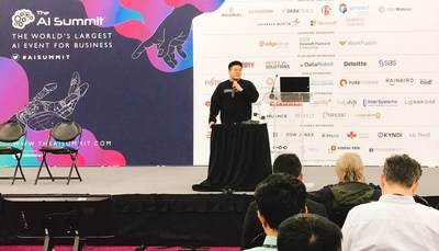 Youngduck Choi, AI tech lead at Riiid is giving a keynote speech at the AI Summit New York 2019.