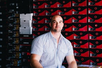 Seller: Chris Holbrook of Sneaker Jesus. Holbrook is one of millions of small businesses who partner with eBay to turn their passions into global sales.