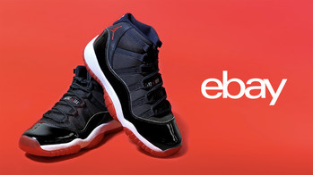 """The unveil of the 'December Drop' series follows eBay's sold out pre-release of the Air Jordan 11 """"Bred"""" made possible by seller Chris Holbrook, also known as Sneaker Jesus. The drop sold out in less than four minutes."""