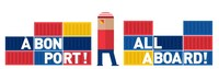 Logo: All aboard! exhibition (CNW Group/Montreal Port Authority)
