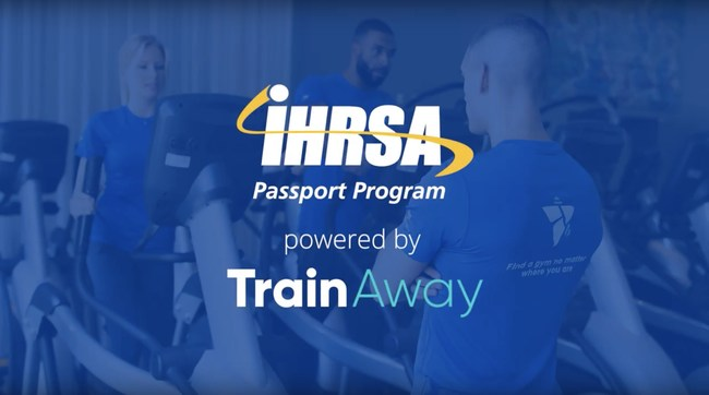 Find a gym while you travel with the IHRSA Passport Program powered by TrainAway.