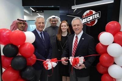 Bechtel hosts local dignitaries to celebrate the reopening of Bechtel's office in Al Khobar, in the kingdom of Saudi Arabia.