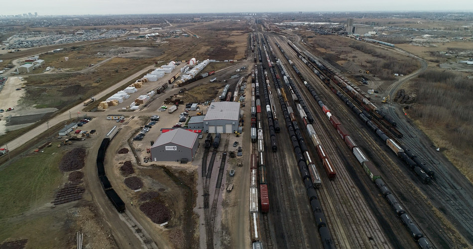 Cando Rail Services announces the start of construction on new Sturgeon Terminal. (CNW Group/Cando Rail Services)