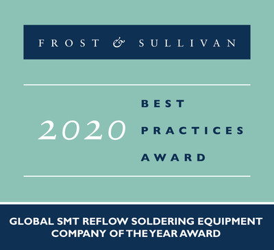 Heller Industries Commended by Frost & Sullivan for Delivering Unmatched Customer Value Through Its Reflow Soldering Technology
