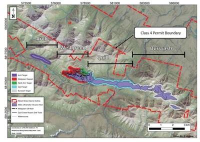 Figure 1. Nickel Shäw Project Map (CNW Group/Nickel Creek Platinum Corp.)