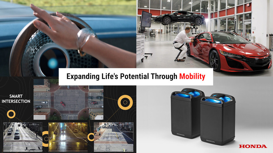 Honda's CES exhibit will feature concepts that integrate connected, autonomous, shared and electric technologies into new mobility products and services.