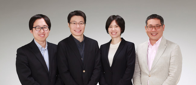 (* from left to right) Eugene Hong (COO), Fei Yang (co-founder), Maiko Kojima (CEO and Founder), Daniel Saito (CRO)