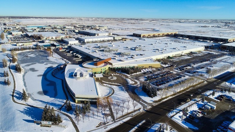 Icon Business Park Aerial Photography December 2019 (CNW Group/Equium Group)