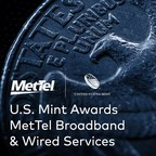 United States Mint Awards to MetTel for Broadband & Wired Services